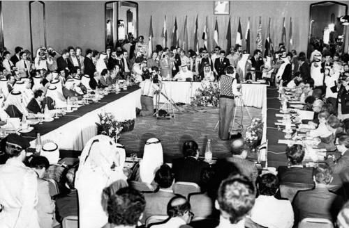Réunion de l'OPEP, 1973 © opec.org